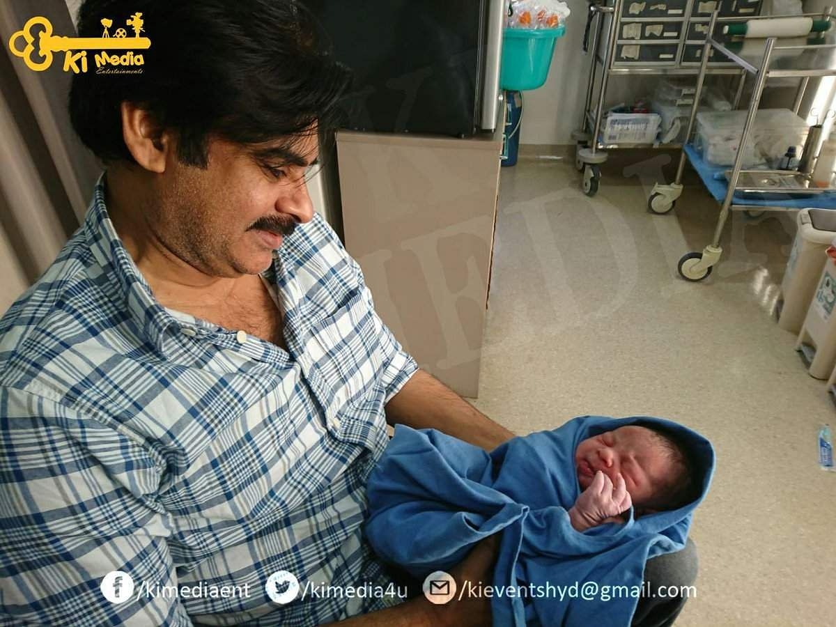 Pawan Kalyan, wife Anna Lezhneva blessed with a baby boy