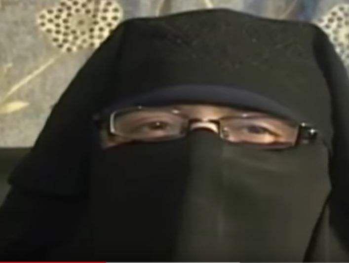 Separatist Asiya Andrabi's pic in J&K's beti bachao campaign