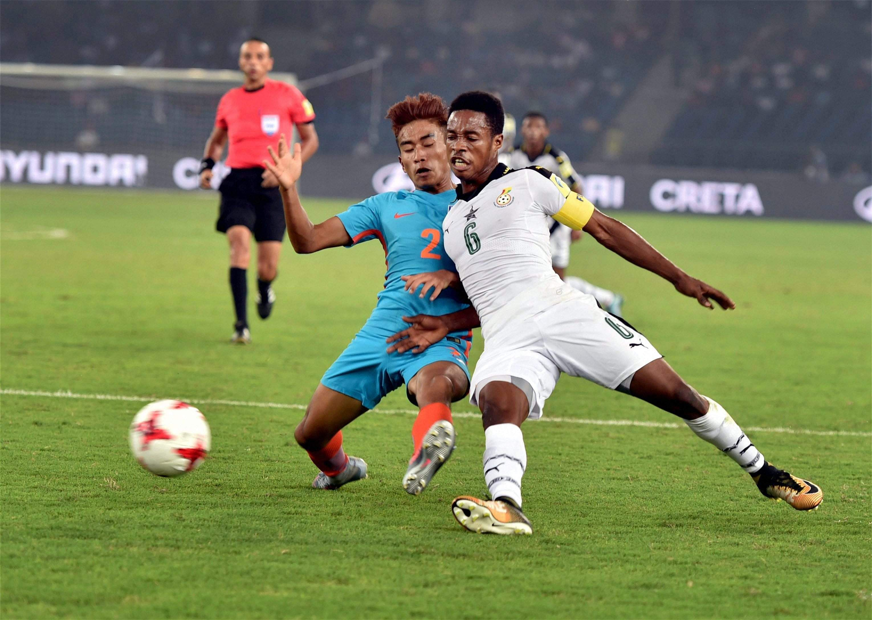 U-17 World Cup: Ghana Downs India 4-0; Colombia, Paraguay