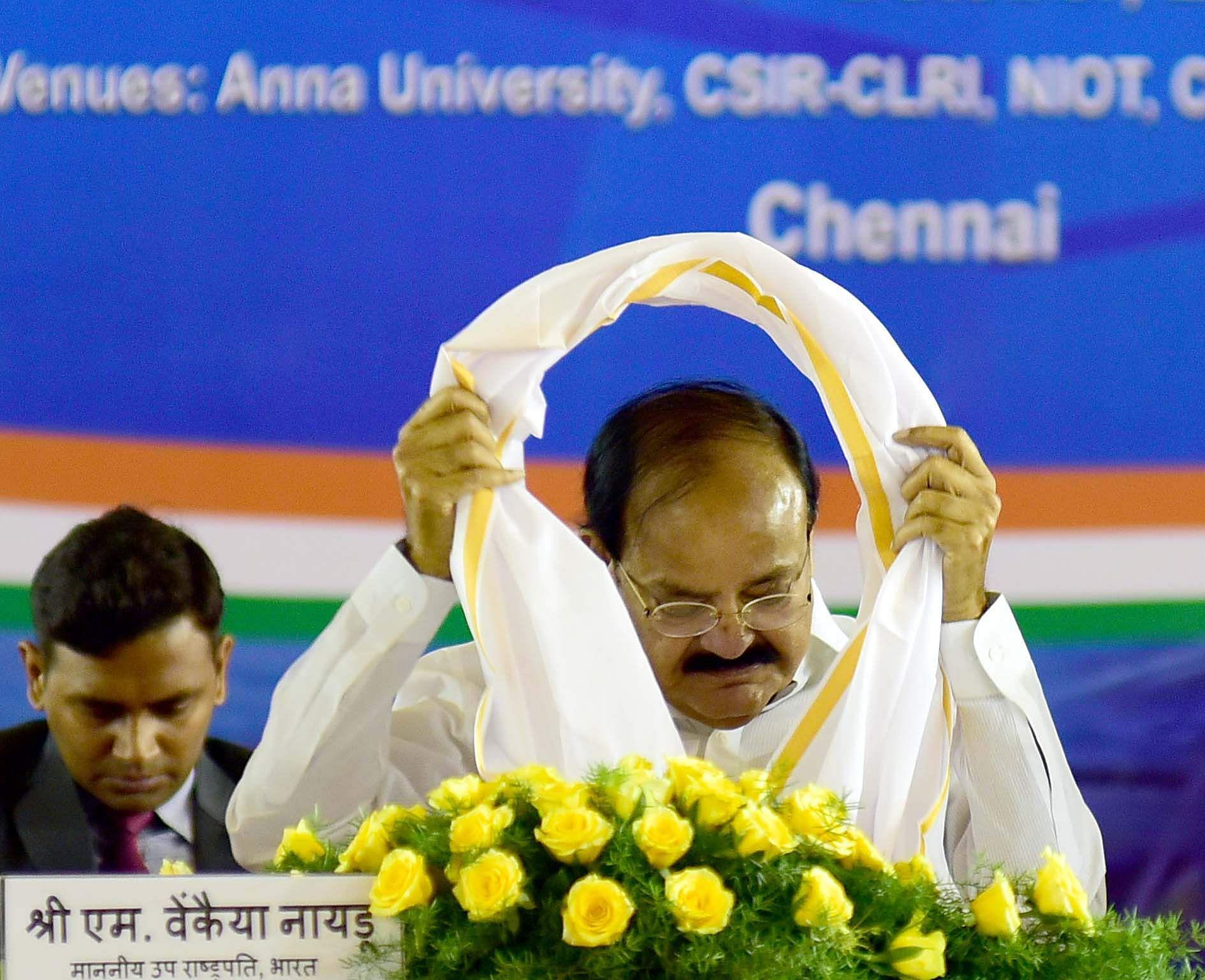 M Venkaiah Naidu attacks Pak, calls it terror-funding state