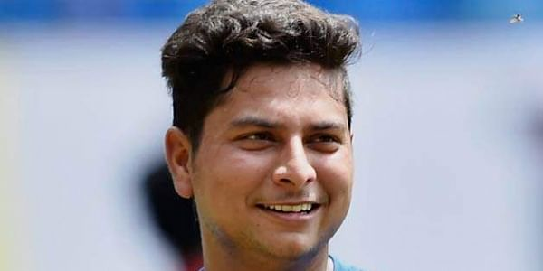 IPL 2018: Kuldeep Yadav unrecognisable after KKR's customary cake smash