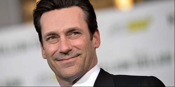 Jon Hamm, the former 'Mad Men' star has been dating the 'Fifty Shades of Grey' actress for a few months. (Photo   Associated Press)