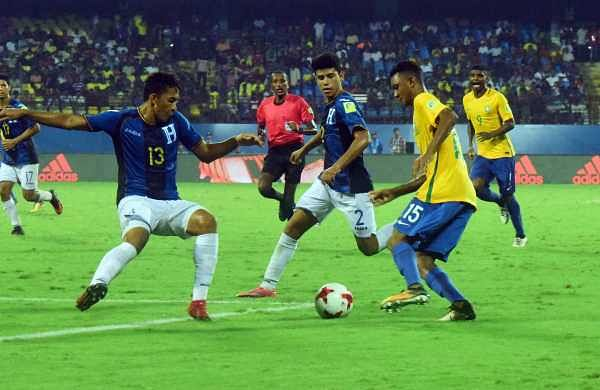 Seeking their fourth title, Brazil have been living upto the expectations by winning all their group matches. EPS