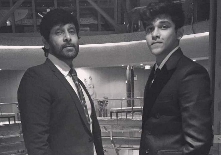 Vikram's son debuts with Arjun Reddy remake