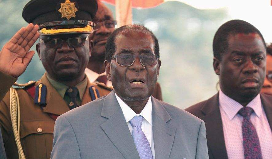 World Health Organization withdraws Robert Mugabe goodwill ambassador role
