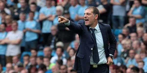 West Ham United manager Slaven Bilic. | AP