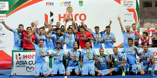 India beat Malaysia to win Asia Cup hockey championship- The