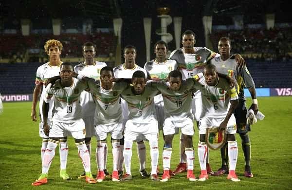 Members of Mali's soccer team. Photo   AP)