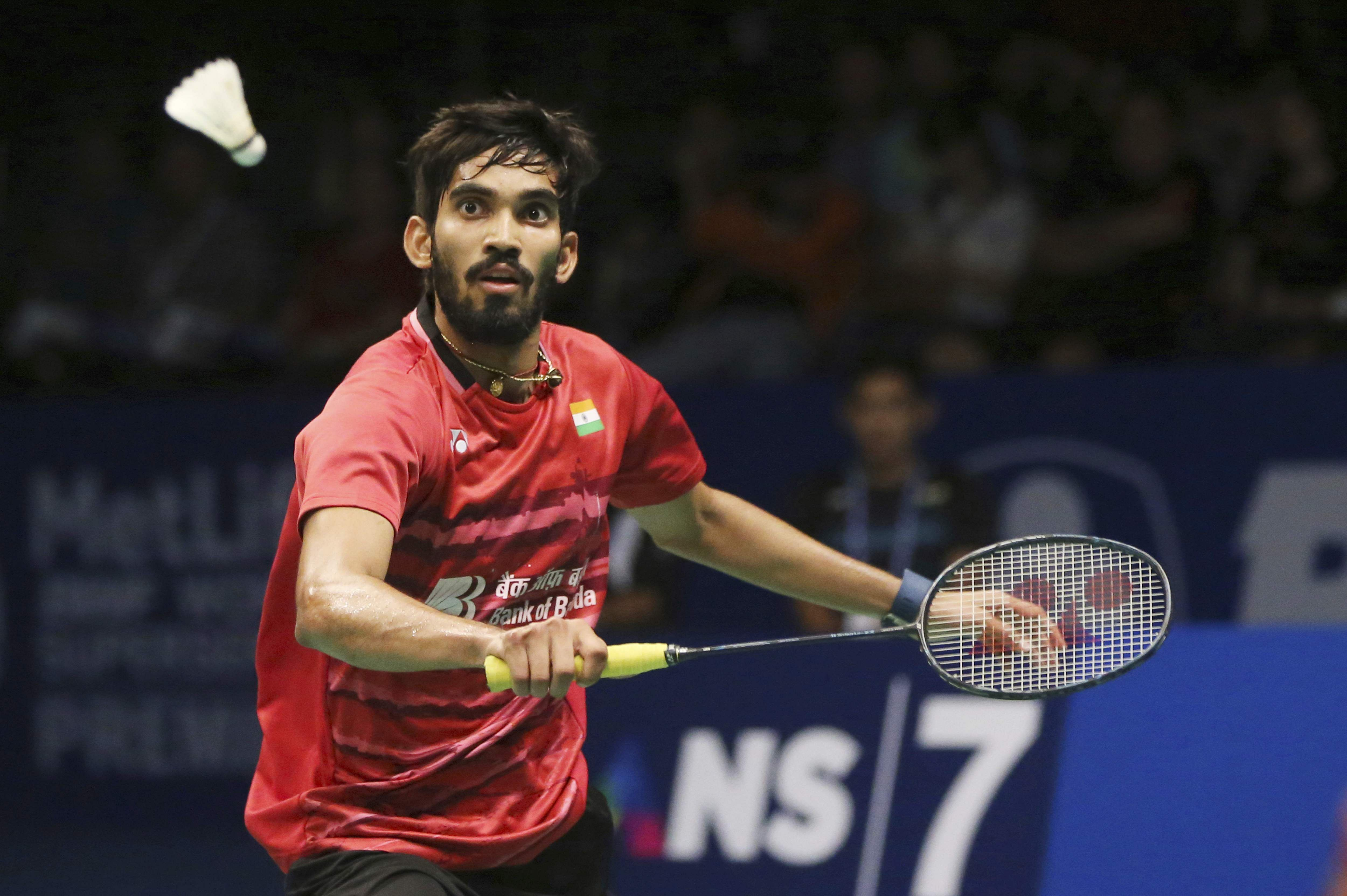 Look to be in best shape for tournaments in 2018 Kidambi Srikanth
