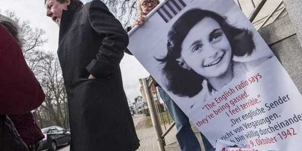 Researchers uncover Anne Frank's 'dirty jokes' in her diary