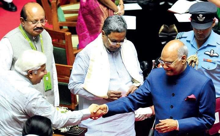 Image result for Karnataka is an engine of Indian economy: Ram Nath Kovind,
