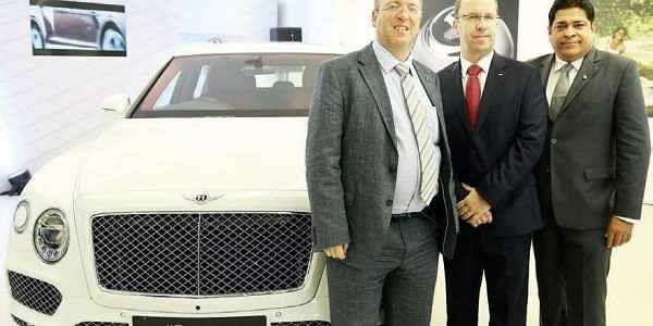 Bentley showroom opens in city the new indian express for Bentley motors net worth