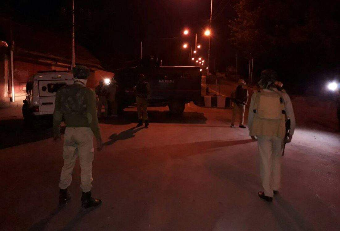 Camp near Srinagar Airport attacked