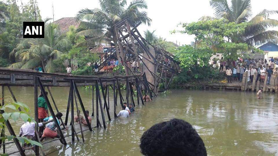 Kerala: Woman dead, 57 injured as foot over bridge collapses in Kollam