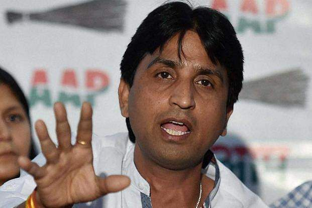 AAP replaces Kumar Vishwas as the party's Rajasthan in-charge
