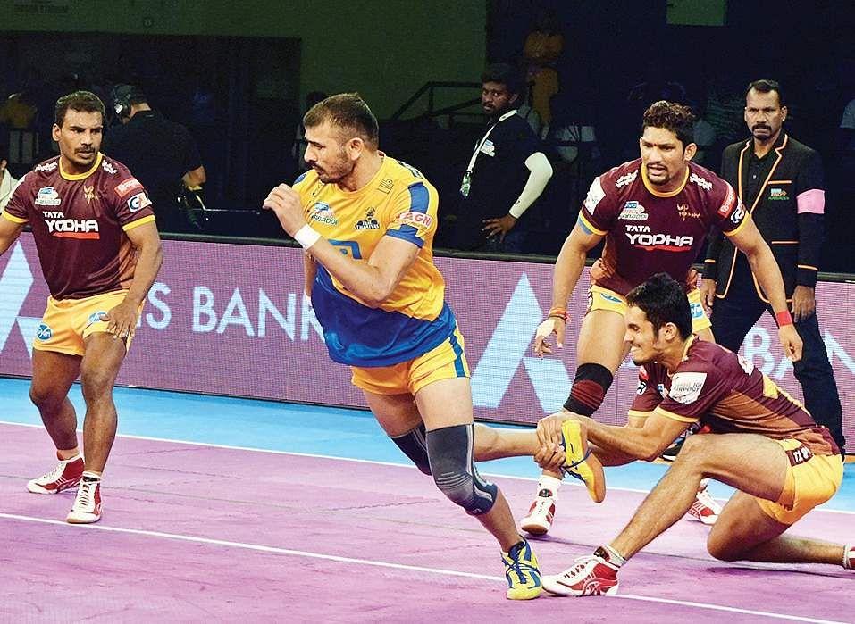 Bengaluru Bulls beats Tamil Thalaivas