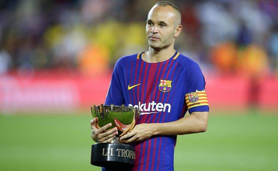 Image result for iniesta 2018