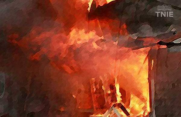 Massive fire breaks out in petrol, diesel storage tanks