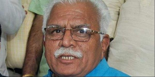 Man Throws Ink At Haryana CM Manohar Lal Khattar