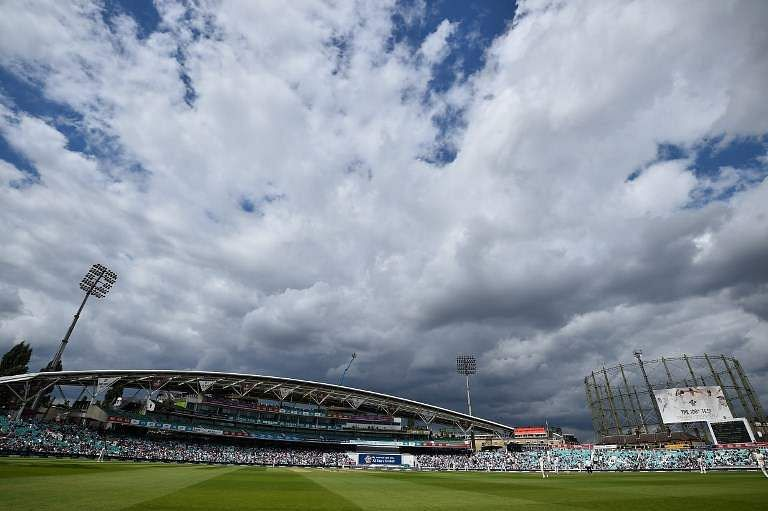 The Oval cricket ground in London.|AFP