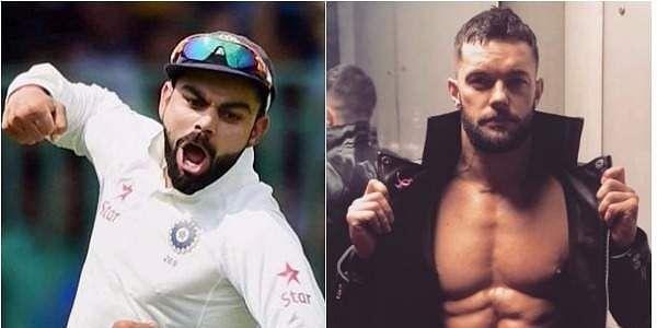 WWE superstar Finn Balor says Indian skipper Virat Kohli is