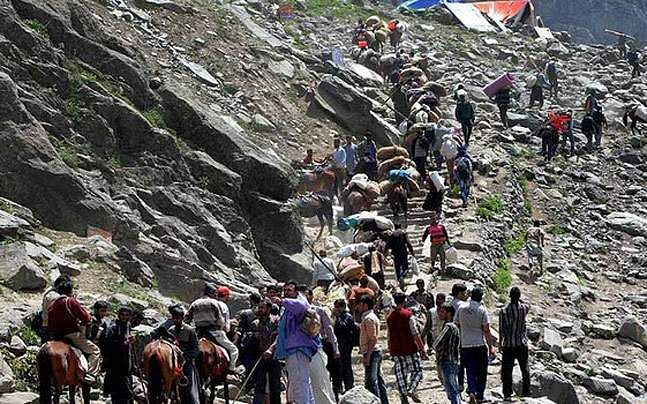 Amarnath Shrine Cave Should be Declared as 'Silent Zone': NGT