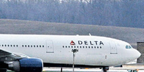 The Delta-Northwest Airlines plane N820NW which escaped an attempt to blow it up.
