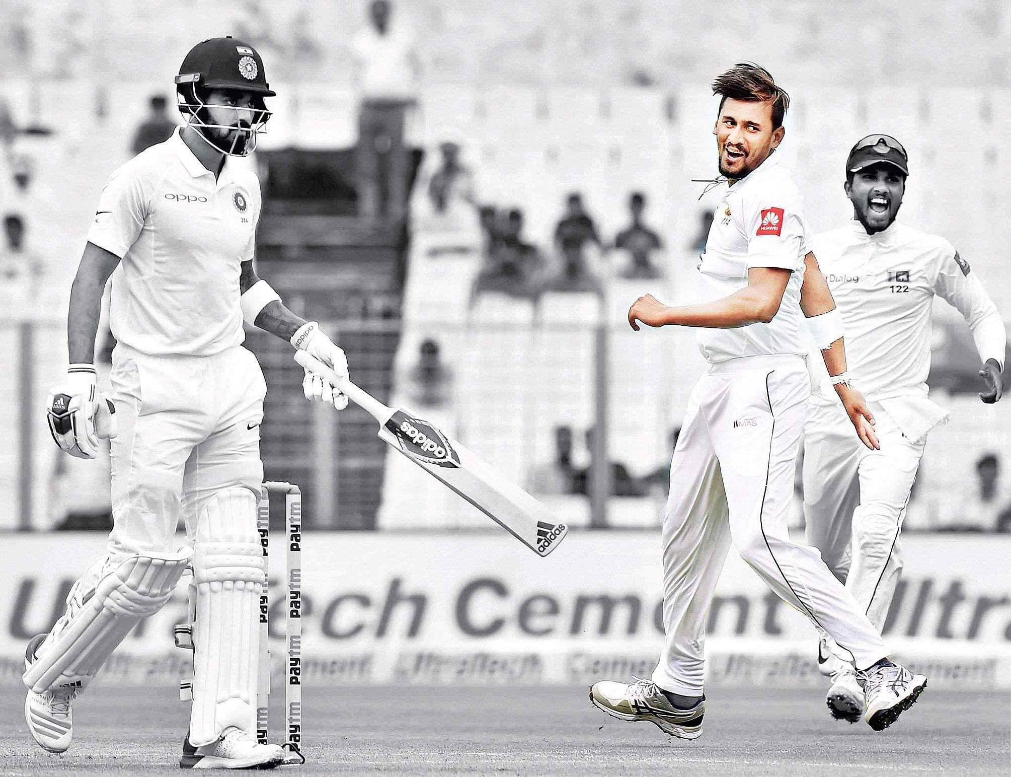 India lose Rahane in Kolkata