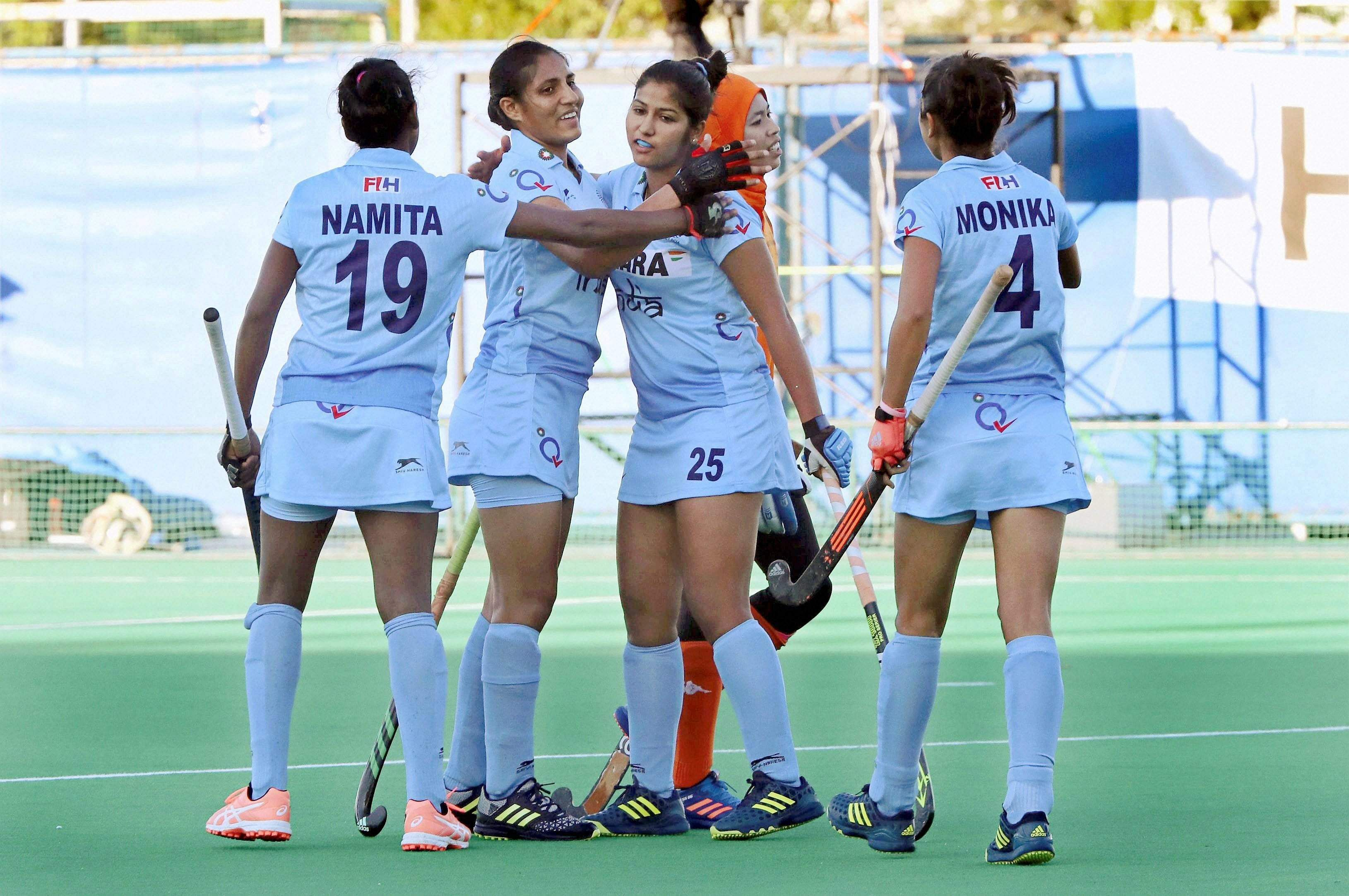 Asia Cup 2017: Indian eves thrash Kazakhstan 7-1 to enter semis