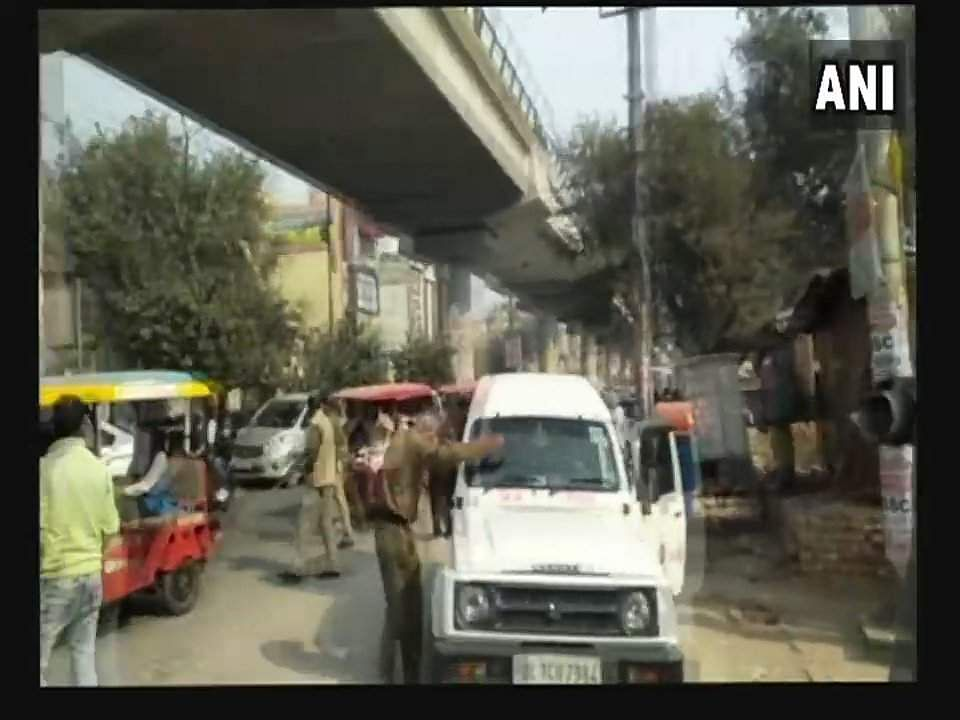 Shootout At Dwarka Mor Metro Station In New Delhi
