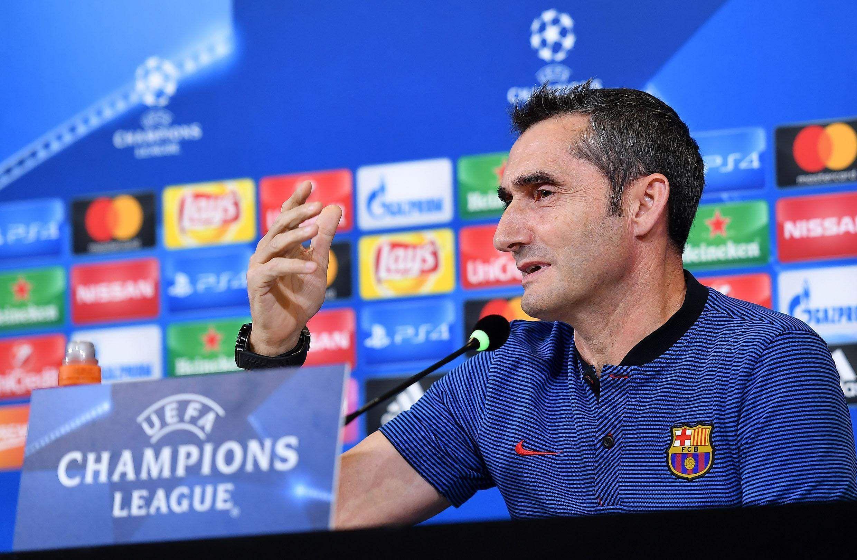 Valverde veut gagner sans encaisser contre la Roma