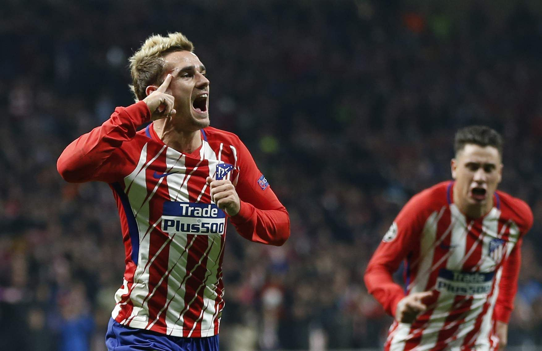 Antoine Griezmann stunner against Roma keeps Atletico Madrid s
