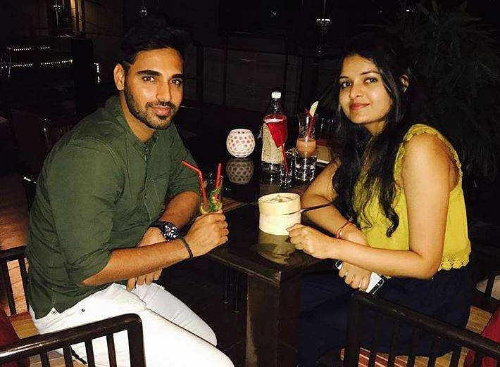 Cricketer Bhuvneshwar Kumar ties the knot with Nupur Nagar in Meerut
