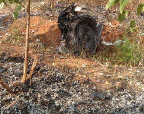 Hyderabad: Two pilots injured as aircraft explodes while crash landing