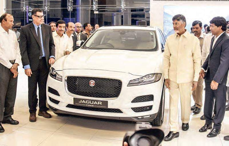 JLR India inaugurates its 3S facility in Vijayawada