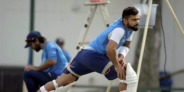 India's captain Virat Kohli during a practice session. (File | PTI)