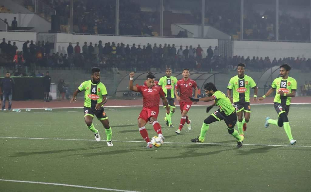 Hero I-League: Shillong Lajong FC wins against Gokulam Kerala FC