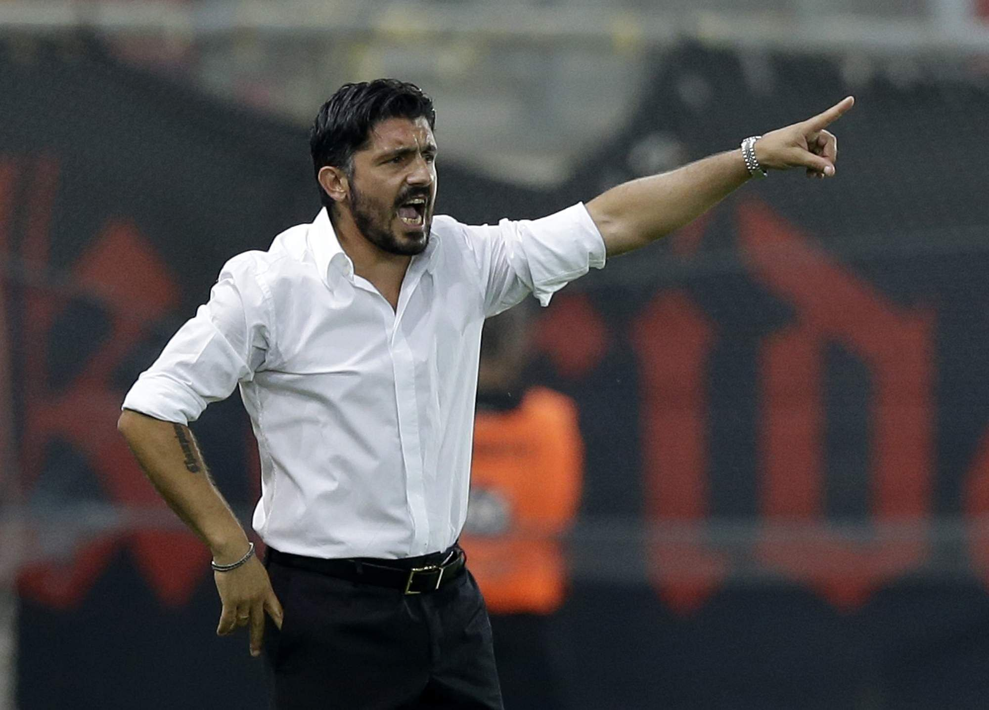 AC Milan coach Gattuso defends Donnarumma after fans criticism