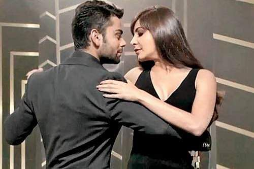 Virat Kohli outclasses girlfriend Anushka Sharma again on dance floor
