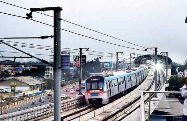Miscreants plans to mar the beauty of Begumpet Metro Station