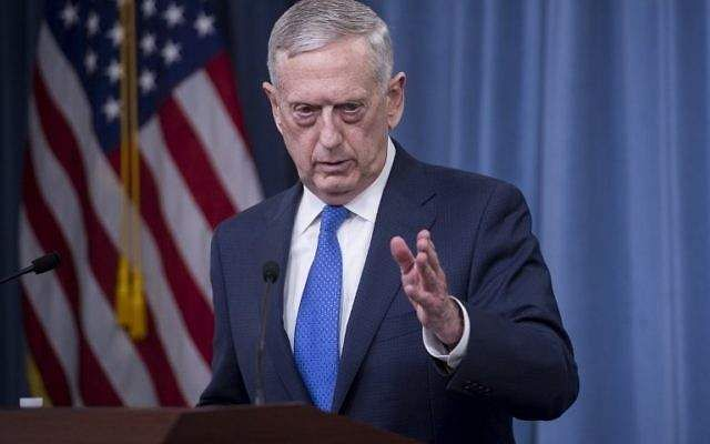 U.S. defence secretary heads to Middle East