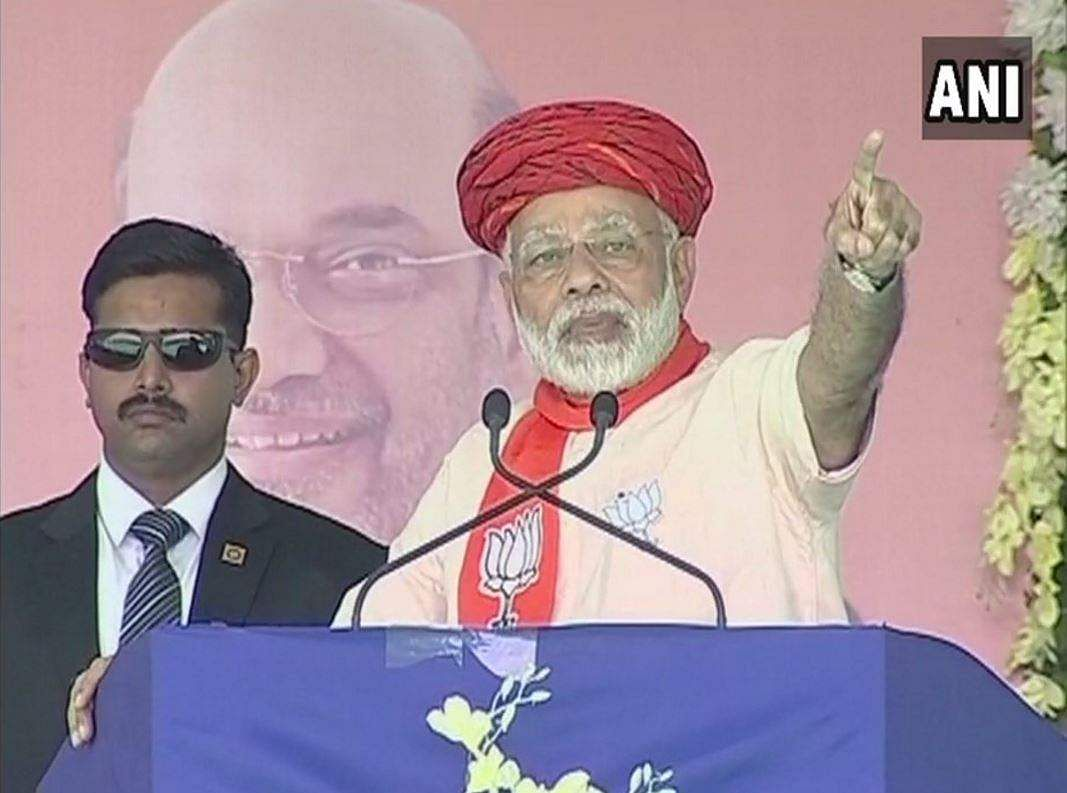 Benefit from rule of your own man, Modi tells Gujarat