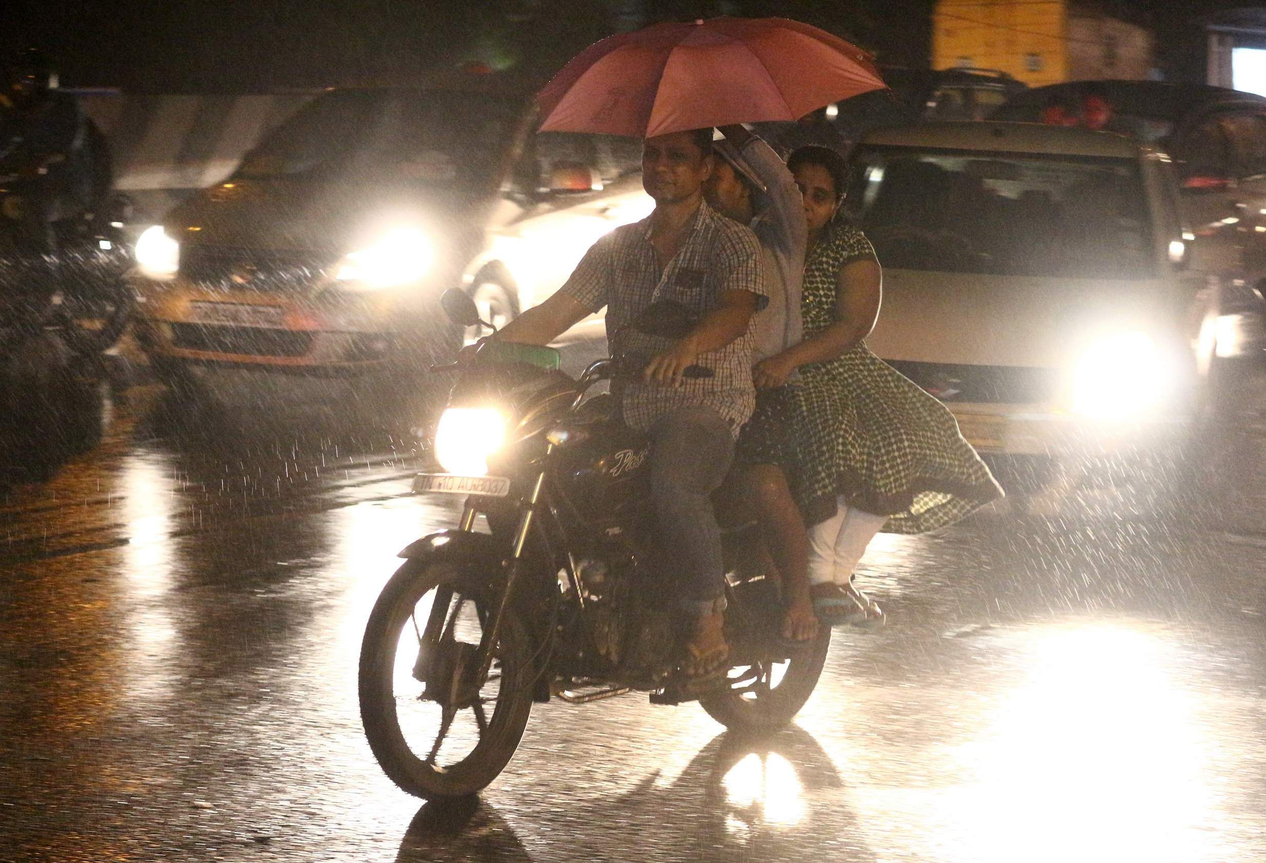 Heavy rains, strong winds make a comeback in the form of
