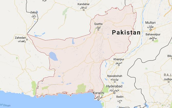 Pakistan summons uk envoy after free balochistan posters appear map of balochistan gumiabroncs Images
