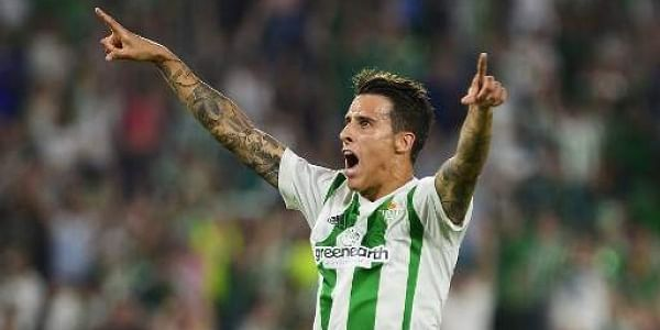 Real Betis Spanish Forward Cristian Tello