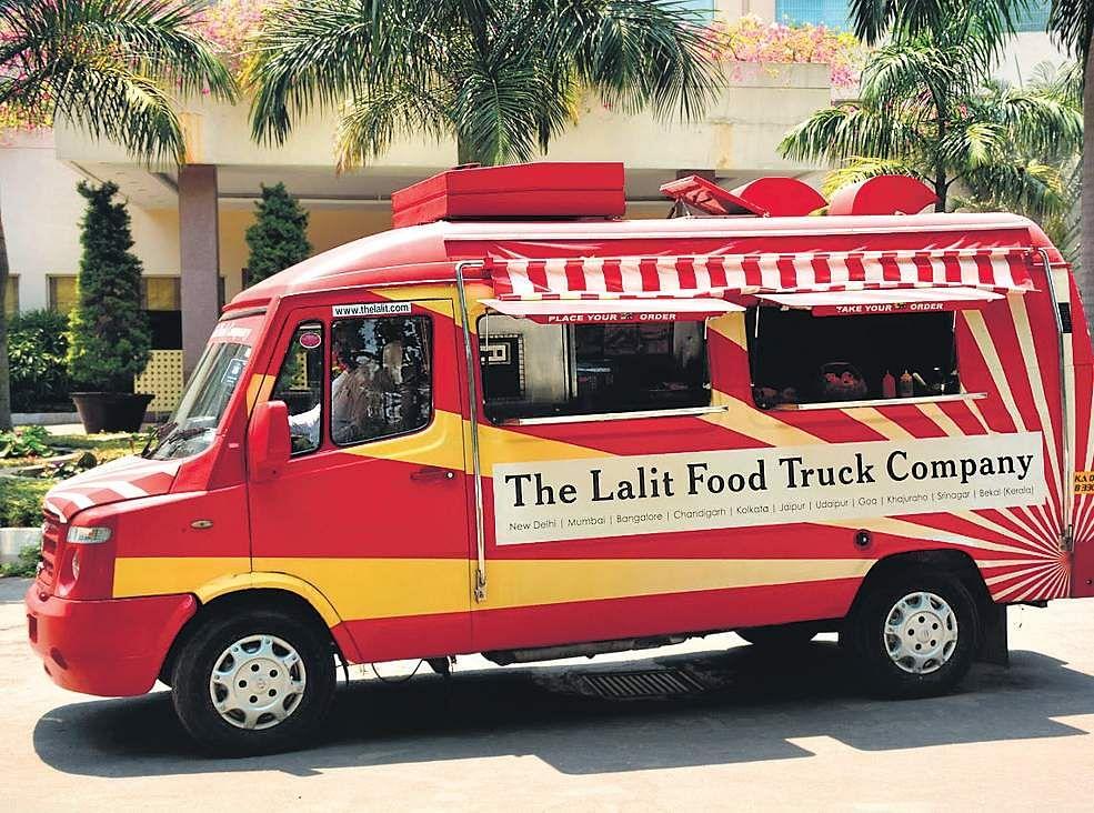 Feasting Gourmet Delicacies On Wheels