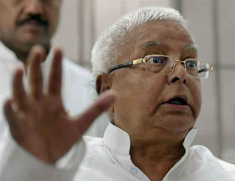 Image result for Lalu demands probe into toilet construction scam