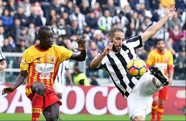 Serie A: Juventus survives early scare to beat Benevento 2 ...