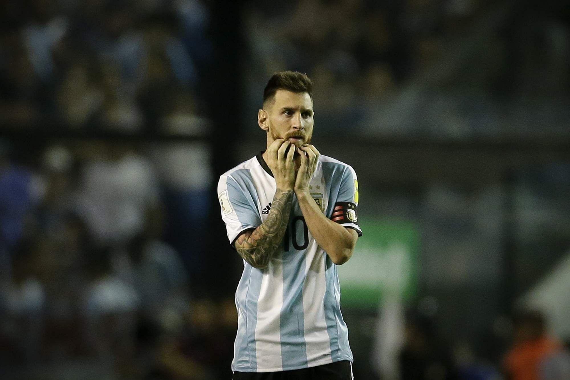 Argentina's Lionel Messi. | AP
