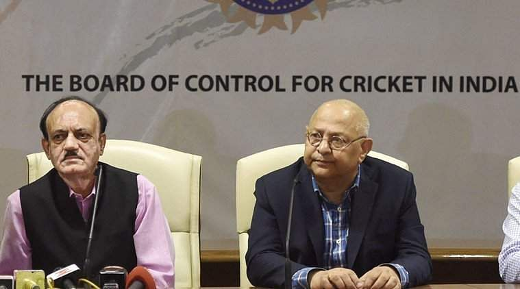 BCCI acting president CK Khanna, left, with acting secretary Amitabh Choudhary (File|PTI)